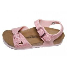 Birkenstock 1008280 Rio Kids Magic Snake Rose Sandalo