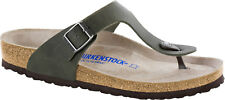 Birkenstock Gizeh Birko-Flor Soft-Footbed Desert Soil Men Sandals footbed - NEW
