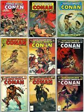 THE SAVAGE SWORD OF CONAN THE BARBARIAN Comics Various VINTAGE
