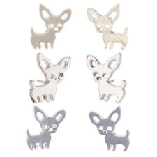 Unique Brief Animal Puppy Dog Alloy Ear Studs Earrings Women Fashion Jewelry
