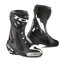 STIVALI TCX RT RACE PRO AIR IN PELLE SPORTIVI DA PISTA RACING NERO VARIE TAGLIE