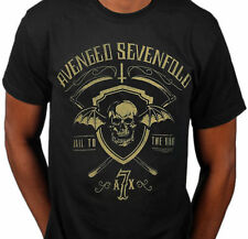 AVENGED SEVENFOLD Shield & Sickle Hail To The King T-SHIRT OFFICIAL MERCHANDISE
