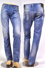REPLAY JEANS MA955 NewBill 606 706 CELESTE - COMFORT FIT NUOVO