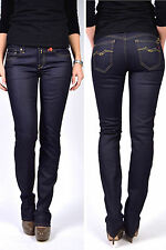 REPLAY JEANS wx648 VICKY AZUL OSCURO rinse 07 Pierna Recta NUEVO - W26 L34