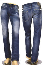 REPLAY JEANS MA955 NewBill 34C 170 AUTHENTIC LUMINOSO Denim - COMFORT FIT NUOVO