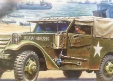 M-3 Armoured Scout Car 1:35 Scale Model Kit By Zvezda
