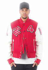 Rocawear Uomo Giacca Bomber Giacca R1708 N703 BLOOD RED SANGUE ROSSO