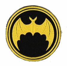 Army Tactical Morale Patch Military Intelligence Biker Motorcycle Flying Bat