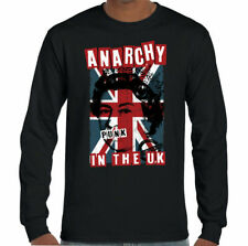 Anarchy nel Regno Unito Uomo Punk Rock T-shirt The Sex Pistols skinhead Union