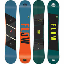 Flow Chill Homme snowboard freestyle FREERIDE hybride Cambre 2016-2018 NEUF