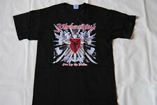 3 INCHES OF BLOOD FIRE UP THE BLADES T SHIRT NEW OFFICIAL LONG LIVE HEAVY METAL