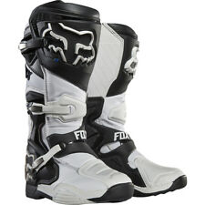 Fox Racing comp 8 Motocross Mx Enduro BOTAS DE MOTO - Blanco