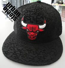 Gorra plana NEW ERA Chicago BULLS flock NBA 59fifty 5950 fitted hat cap hiphop