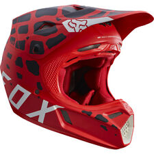 Fox V3 Grav MOTOCROSS MX Casque - ROUGE ENDURO MOTO VTT BMX MIPS