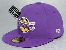 Gorra plana NEW ERA Los Angeles LAKERS NBA 5950 59fifty fitted hat cap hiphop
