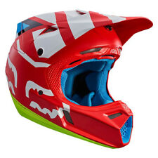 Fox V3 Creo MOTOCROSS MX Casque - ROUGE ENDURO MOTO VTT BMX MIPS