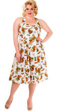 Banned DREAMER Tiki Aloha Retro 50s SWING Dress KLEID Plus Size Rockabilly