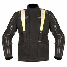 Akito Latitude Mens Black Textile Waterproof Motorcycle Jacket New