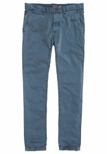 Superdry Chinohose Herren INTERNATIONAL CHINO LITE PANT Graphite Blue