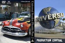 Universal Studios Orlando Part 2 - Production Central DVD or Blu-Ray (NEW)