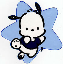 """5""""-8.5"""" Pochacco Hello kitty running wall safe sticker border cut out character"""