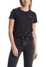 Levis Damen T-Shirt PERFECT TEE 39185-0008 Schwarz