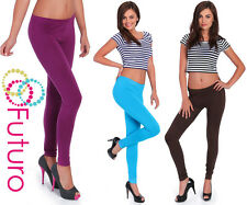 Leggings lunghi Fitness Pantaloni da yoga di qualità stock UK TAGLIA 6-22 8391