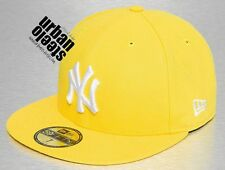 Gorra visera plana NEW ERA 59 fifty NY Yankees Nueva York hiphop fitted hat cap