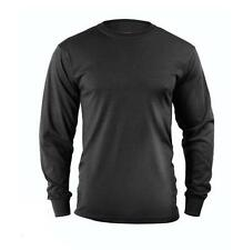 Black LONG SLEEVE T-Shirt US Marine Corps Army Navy USMC Security Work Out S-2X