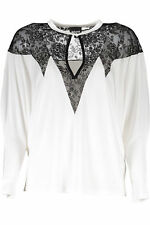 Just Cavalli WH2-S04NC0208_100 T-shirt donna - colore Bianco IT