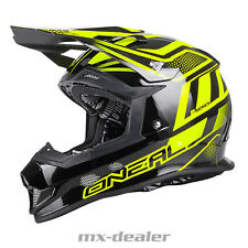 O'NEAL 2Series MANALISHI NERO GIALLO tg. XL CASCO CROSS MX motocross enduro