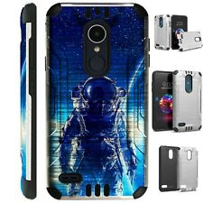 SILVER GUARD For LG Aristo / Stylo Phone Case Cover ASTRONAUT