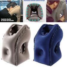 Inflatable Air Cushion Travel Pillow Airplane Nap Pillow Neck Chin Head Rest