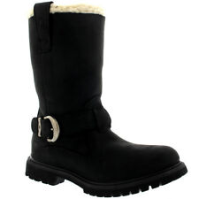 Womens Timberland Nellie Pull On Earth Keepers Fur Lined Mid Calf Boots US 5-11