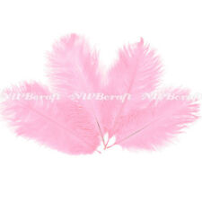 Baby Pink Ostrich Feather Fluffy Wedding Costume Party Centerpiece Craft Decor