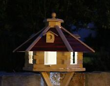Bird House Bird Houses with Solar Lighting and with Stand