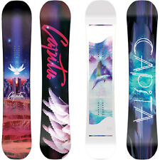 Capita Space Metal Fantasy Snowboard Mujer Freestyle Hybrid Roquero 2018-2019