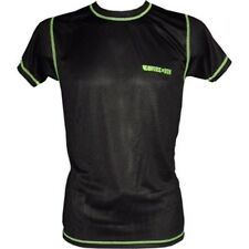 Camiseta Hombre. WORK IN RUN. Atletismo y running. Color Negro/Lima.