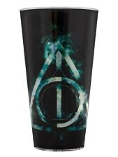 Harry Potter Deathly Hallows Black Drinking Glass