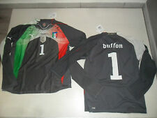 2574 PUMA ITALIA AUTHENTIC SHIRT JERSEY MANGA LARGA BUFFON CAMISETA PORTERO