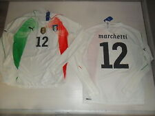 2572 ITALIA AUTHENTIC SHIRT JERSEY MANGA LARGA MARCHETTI ITALIA CAMISETA PORTERO