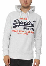 Superdry Herren Sweater SWEAT SHIRT SHOP DUO HOOD Ice Marl