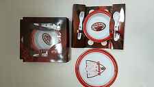 UX 2771 MILAN SET MEALTIME KIDS SOUP PLATE PIANO FORK SPOON BABY MEAL