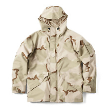 Genuine US Military Issue 3 Color Desert Goretex Parka Jacket ECWCS