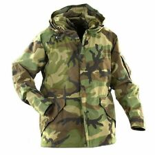 Gore-Tex® Men's US Military GI Woodland Camo Parka ECWCS Jacket, Made in USA