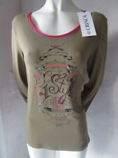 Biba Camiseta con Brillo Light Caqui Cs 071 TALLA L NUEVO