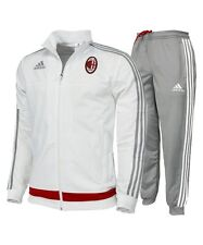 072f91cddc34d6 2951 ADIDAS ACM MILAN TRACKSUIT TRAINING TRACKSUIT TRAINING WHITE S20672