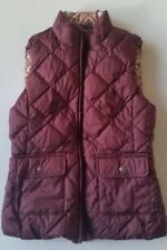 Gant Mujer Chaleco Plumón Winter Reversible Reversible TALLA: XS Nuevo
