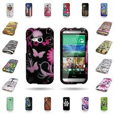 For HTC One Remix Case / Mini 2 Hard Slim Shell Design Snap On Phone Cover