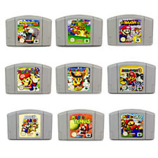 N64 Juegos Super Mario Mario Kart Party 1 2 3 Smash Bros Papel Golf Tenis